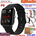 Смарт-часы P8 P9 для мужчин и женщин, сенсорный экран 1,4 дюйма