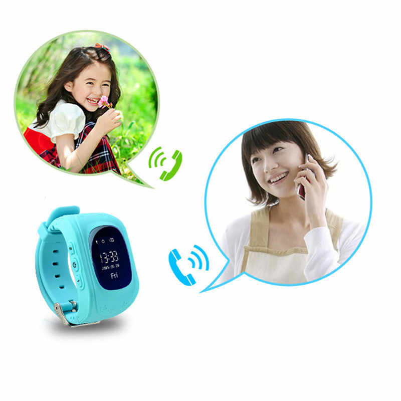 GEJIAN חכם שעון לילדים ילדים GPS Tracker SOS שיחת לעזור צג טלפון סלולרי מיקום GPS תואם עם IOS אנדרואיד