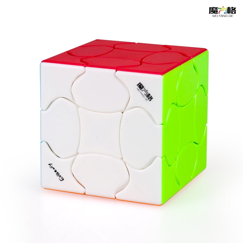 QiYi Fluffy 3x3x3 Magic Cube QIYI MOFANGGE 3x3 Speed Cube Non Magnetic Puzzle Stickerless Cubo Magico Toys Gift For Children
