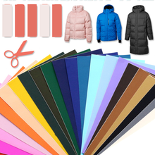 T-N Down Cotton Jacket Self Adhesive Sticker Patches PVC Waterproof Material Can Washable Appliques For Jacket Hole Repair DIY