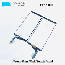 Novecel タッチスクリーン三星銀河 Note8 N950 タッチスクリーンデジタイザパネルセンサーフロントガラス外側レンズ