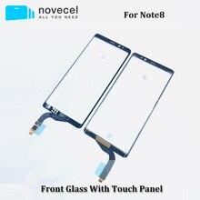 Novecel TouchScreen Für Samsung Galaxy Note8 N950 Touchscreen Digitizer Panel Sensor Front Glas Äußere Linse