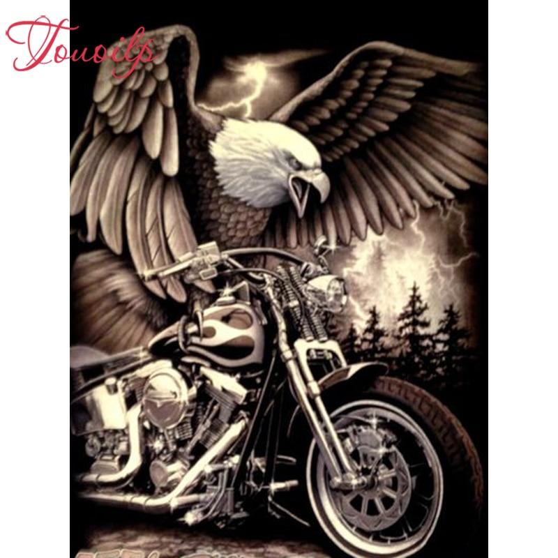 Death motorcycle 5D DIY Diamond Painting