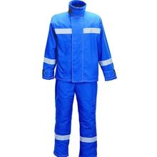 Защитная одежда для защиты от электродуговых замыканий Костюмы огнезащитная Антистатическая изоляция огнестойкий Термальность изоляции дышащая DFH2