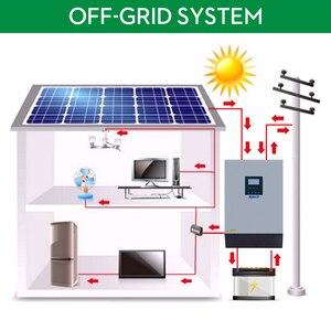 Image 2 - 5KVA 태양 광 인버터 4000W 48V 230V 순수 사인파 하이브리드 인버터 내장 60A MPPT 오프 그리드 태양 컨트롤러 배터리 충전기