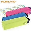 Чехол-карандаш KOKUYO Canvas Coloree  W-PC22  зеленый/синий/розовый цвета  школьные и офисные принадлежности в Японии