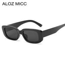 Aloz micc Fashion Women Cool Rectangle Style Gradient Sunglasses Men