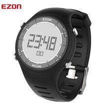 Цифровые спортивные мужские часы для бега на открытом воздухе Водонепроницаемые многофункциональные часы Будильник Секундомер для женщин и мужчин EZON L008