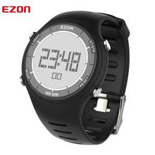 디지털 야외 스포츠 러닝 남자 시계 방수 다기능 알람 시계 시간 스톱워치 여자 EZON L008