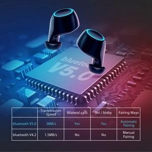Image 3 - BlitzWolf FYE3S FYE3 TWS gerçek kablosuz Bluetooth 5.0 kulak kulaklık 2600mAh pil şarj dijital güç göstergesi spor kulaklıklar