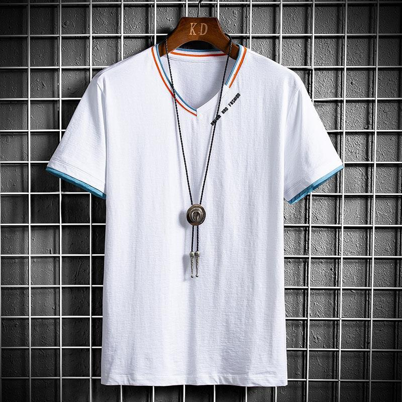 Men's long sleeve T-shirt spring new body autumn small shirt trend bottoming shirt thin in spring