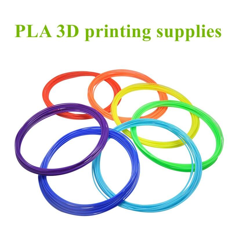 10m/1.75mm PLA Graffiti 3D Printing Pen Filament Consumables DIY Hand-painted Creative Scrawl Toys Stereo Dauber Graffito