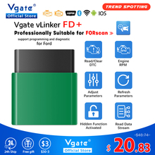 Vgate vLinker FD + ELM327 Bluetooth 4,0 FORScan Für Ford wifi OBD2 Auto Diagnose OBD 2 Scanner J2534 Auto Werkzeug ULME 327 V 1 5