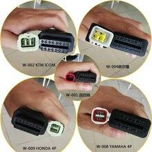 National IV EFI 6PIN dla Kawasaki/KTM motocykl Adapter kabel detektor OBD2 dedykowane 3PIN 4PIN Adapter wtyczka dla Yamaha/Honda