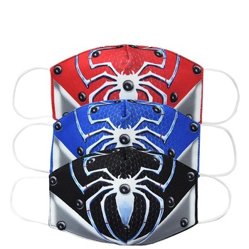 2020 Spiderman Adult Kids Face Mouth Mask Unisex Dust Respirator Washable Reusable Masks Fashion Non-disposable Mouth Muffle