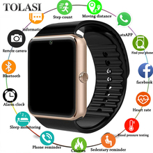 2018 New Smart Watch For Apple Men Women Android Wristwatch Electronics Smartwatch With Camera SIM TF Card PK Z60