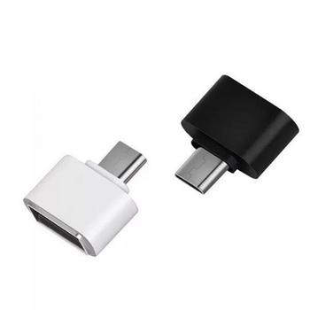 Typ C OTG adaptery do telefonów komórkowych złącze do telefonów komórkowych Samsung Huawei z certyfikatem wysokiej prędkości tanie i dobre opinie CN (pochodzenie) a type c otg adapter 1 8*0 8*1 9cm USB2 0 to Type c 3pcs lot