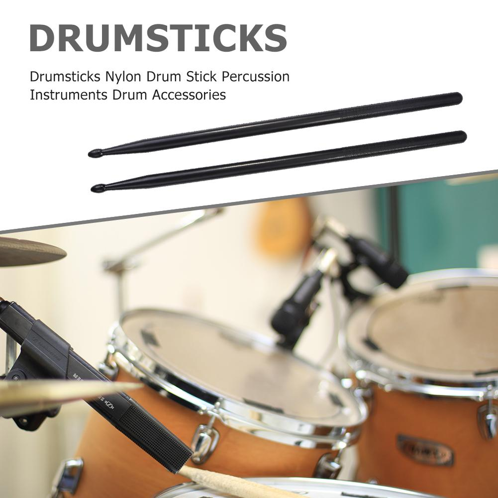 1 Pair Musical Drum Sticks Percussion Nylon Applicable Instrument Music Band Accessories for Children Drummer Studying
