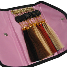 32 pcs Color Ring Human Hair Color Ring For All Kinds of Hair Extensions Color Chart