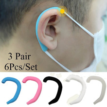 Artifact-Sleeve Face-Mask Ear-Protect Diy Earmuffs Comfortable Universal Silicone Unisex