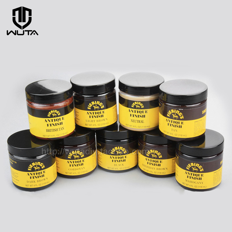 American Import Antique Finish Paste Leather Dye DIY Coloring Agent Highlight Tooling,carving,embossing 118ml 9 Color Available
