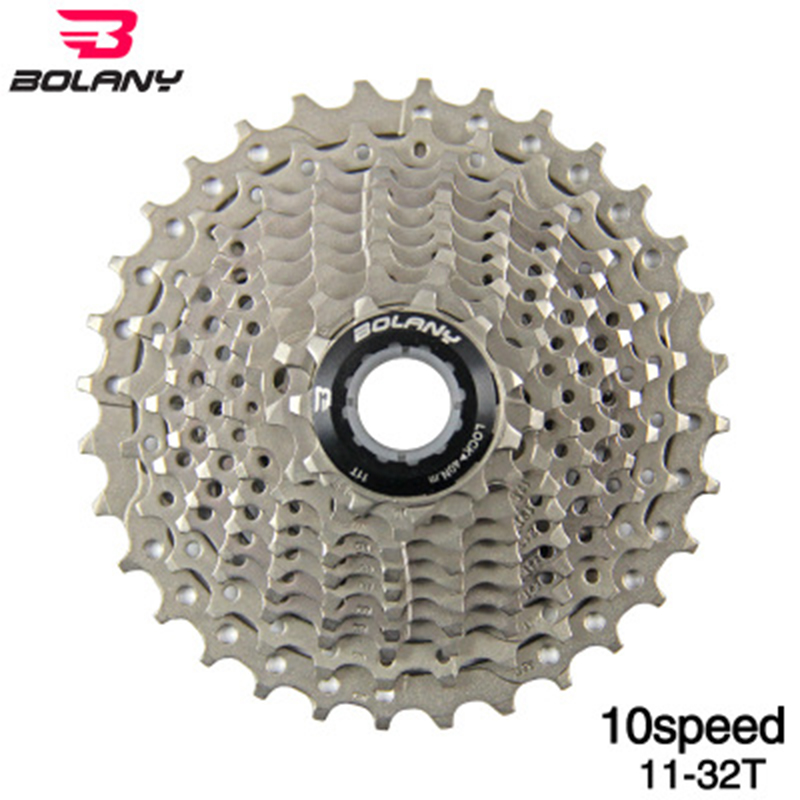 BOLANY Bike Cassette MTB 10 Speed 11-50T Freewheel Sprocket Gear Ratio Flywheel