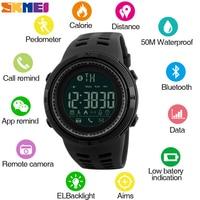 Nuovo SKMEI Smart Watch uomo Smartwatch donna promemoria chiamate orologi da polso Bluetooth orologi sportivi da donna da uomo Reloj Inteligente 2021