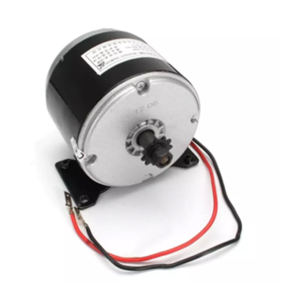 24V 250W High-Speed Brushed DC Motor Electric Scooter Folding Bicycle Electric Bicycle Brush Motor Bike Accessories