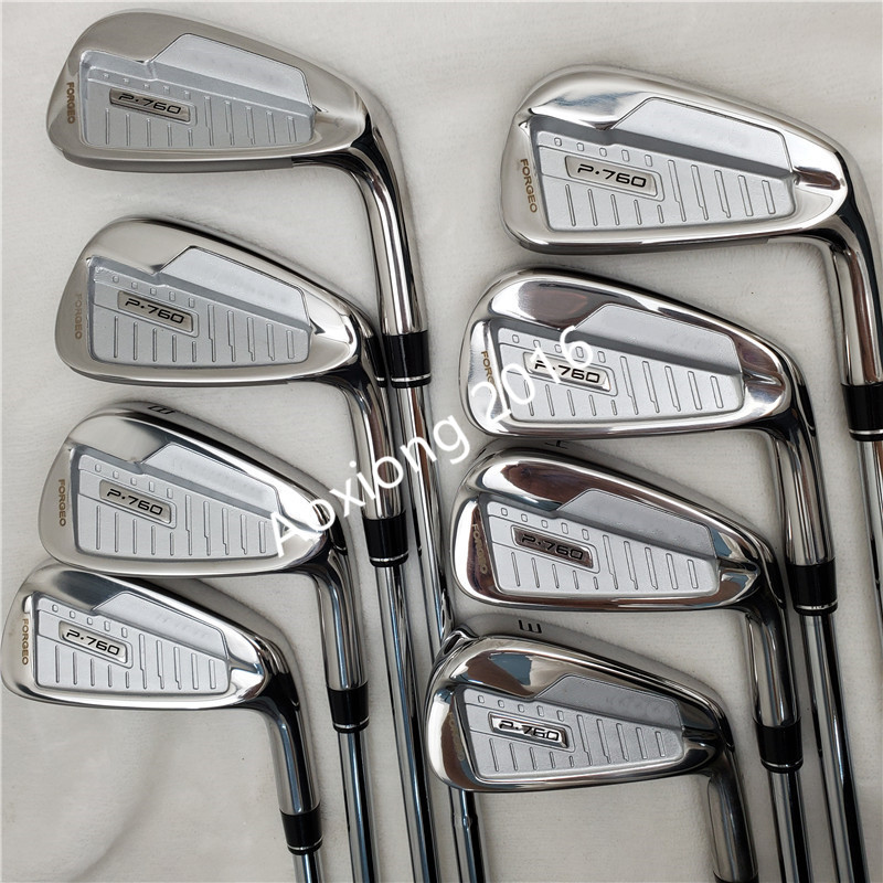 Golf Club P760 Golf Irons 3-9P R/S Graphite / Steel Shaft Free Shipping