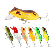 Fishing Lure frog bait black fish snakehead top water 501mm10g M044 Thunder frog top wter lure