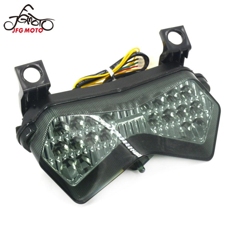 Motorcycle Light Tail Brake Stop Turn Signal Light Integrated For Kawasaki ZX6R <font><b>636</b></font> ZX6RR ZX-6RR Z750S <font><b>2003</b></font> 2004 Z1000 03 04-06 image