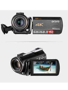 ORDRO Video-Camera Camcorder Optical-Zoom Wifi Full-Hd 4K AC5 Vlog Filmadora 12X