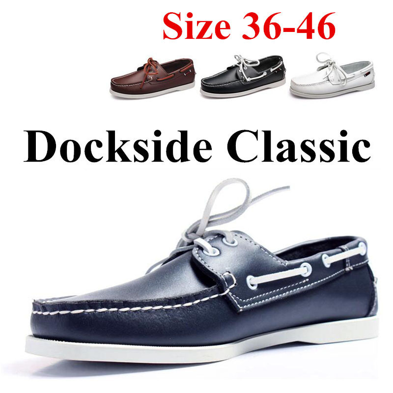 Genuine Leather Men Women Casual Shoes Tassel Boat Shoes Classic Loafers Slip On Moccasins Driving Shoes England Flats 2019A039