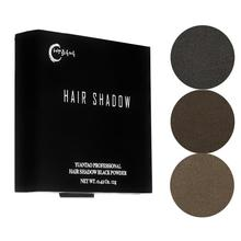 12g Instantly Hairline Shadow Powder Hairline Refill Powder Fluffy Concealer With Waterproof Powder Hair Puff Hair K1M9
