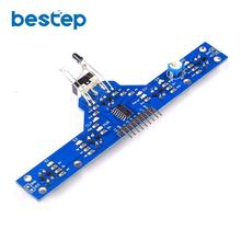 5 Channel Tracing Sensor Module IR Infrared Detector Tracking Line Obstacle Avoi
