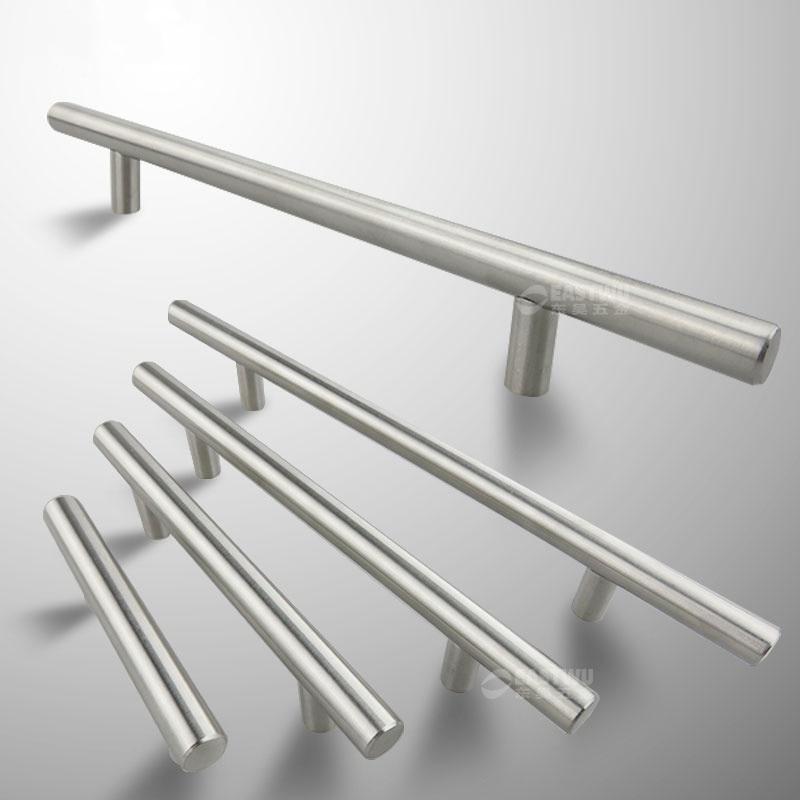 Stainless Steel Kitchen Door Cabinet T Bar Handle Pull Knob Cabinet Knobs Furniture Handle Cupboard Drawer Handle