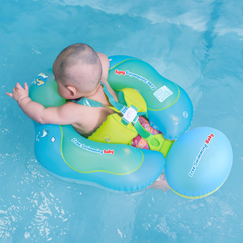 Baby Swimming Float Ring Inflatable Infant Floating Kids Swimming Pool Accessories Circle Bathing Inflatable Double Raft Rings