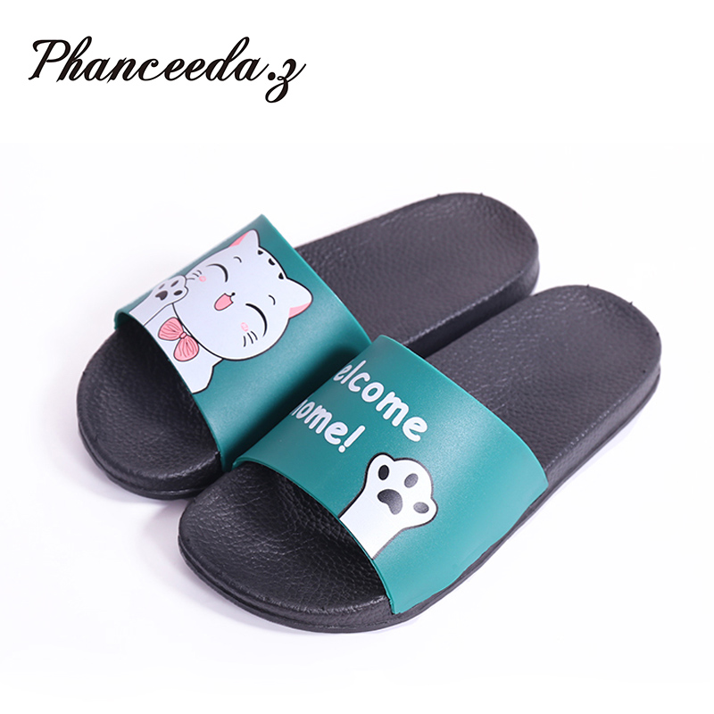 2020 Casual Shoes Women Sandals Sandalias Mujer Summer Style Fashion Flip Flops Quality Flats Solid Woman Slippers Size 4