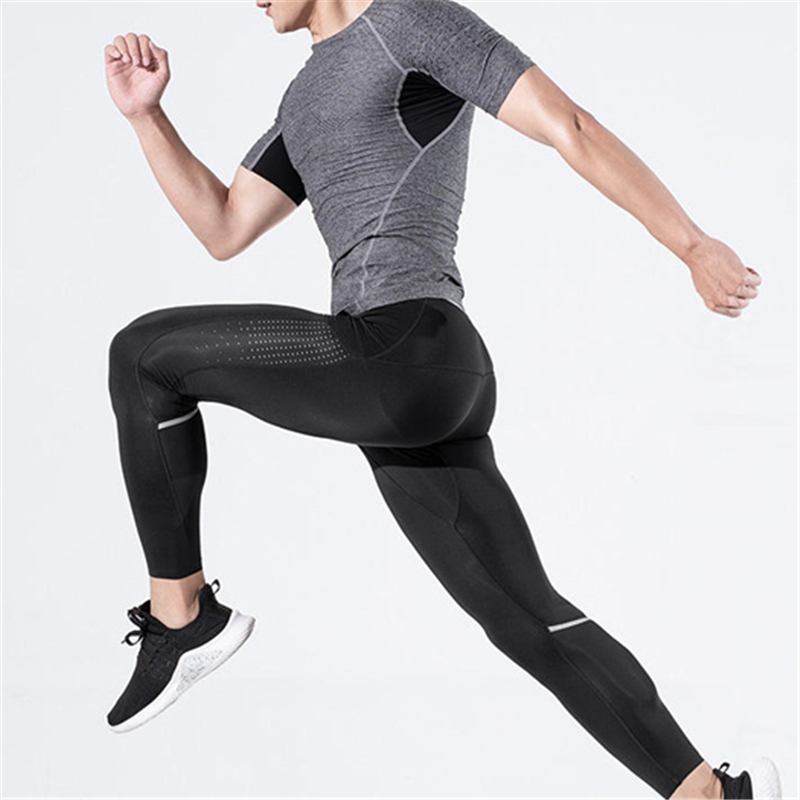 Zenph Men Compression Pants SensElast High Elastic Sports  Quick Drying Training Fitness Tights