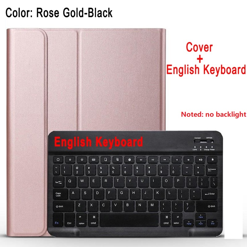 Rose with black Black For IPad 10 2 8 7 Generation 8th 2020 Case A2200 A2198 A2232 Slim Magnetic Bluetooth