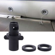 Kayak Inflatable Boats-Accessories Hose-Adapter Rowing Foot-Pump Air-Valve HR