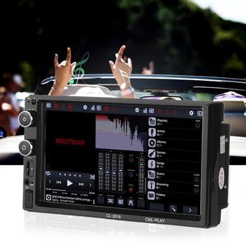 7 cali samochód MP5 odtwarzacz WiFi 2Din Radio samochodowe Stereo multimedialny Bluetooth MP5 odtwarzacz SAMOCHODOWY ODTWARZACZ DVD samochód Radio samochodowe akcesoria nowy tanie i dobre opinie Qiilu Jpeg Car MP5 Player 627 g Black
