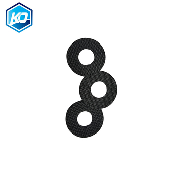 Customized CNC Cutting 1pcs Carbontex  Drag Washer For Fishing Reels Carbon Fiber Washer 0.7mm