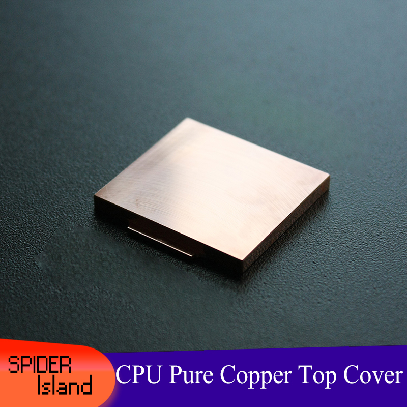 <font><b>CPU</b></font> Cool Pure Copper Cover Ihs Overclocking Cooling Fin Heat Radiation Opener for 115X i5 <font><b>i7</b></font> 3770 4770K 4790K <font><b>6700K</b></font> 7700K 8700K image