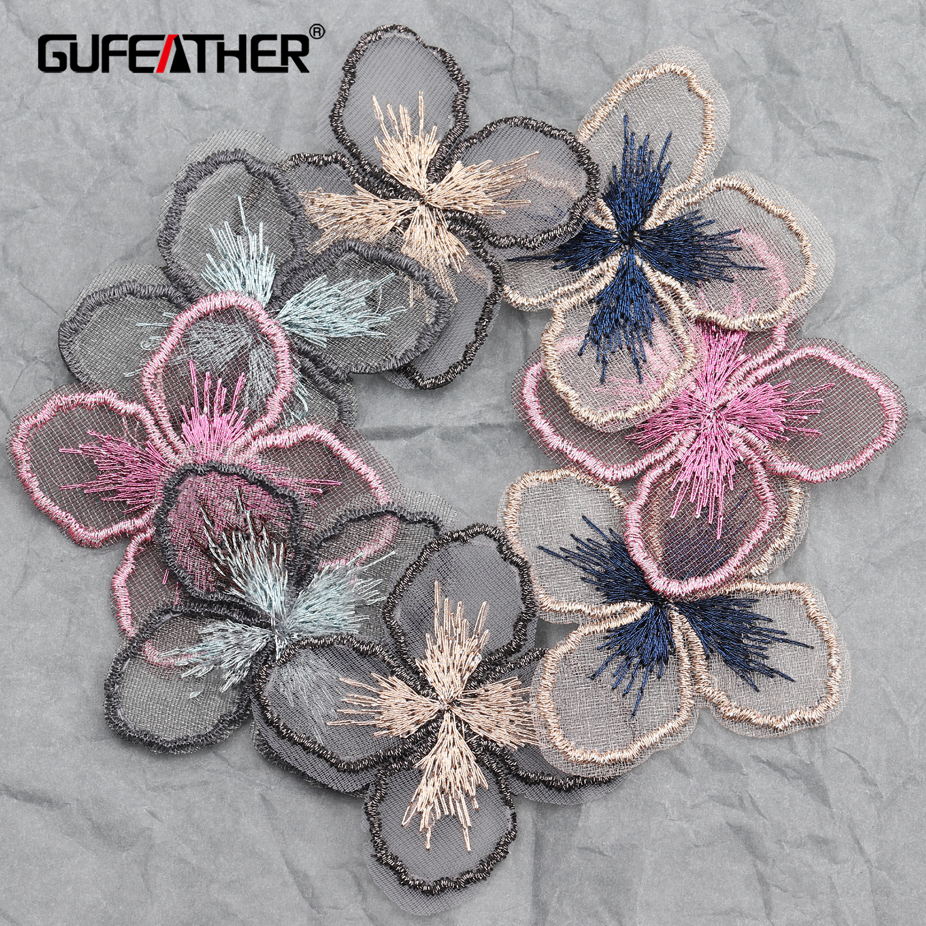 GUFEATHER L208,diy Tassel,jewelry Accessories,patch Accessories,hand Made,Knitted,jewelry Making,jewelry Findings,20pcs/lot