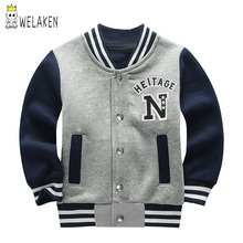 weLaken 2019 Children Kids Jackets Girls Sweatshirt Sport Co