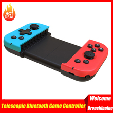 휴대용 컨트롤러 텔레스코픽 블루투스 게임 경량 게임 아이폰 안드로이드 전화에 대한 요소를 재생 PUBG 모바일 Dropship
