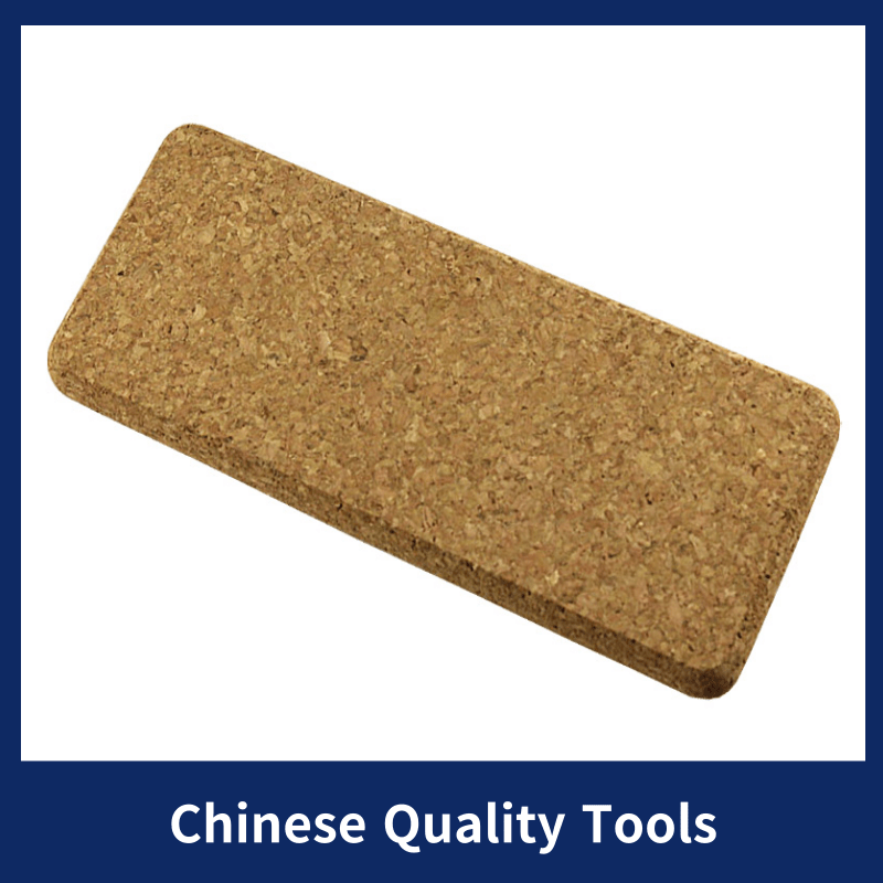 2 Pcs PVC Plastic Floor Laying Tools Cork Push Plate Ground Compaction Exhaust Plate