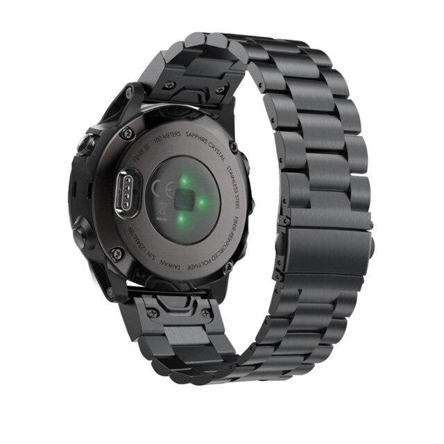 Fenix 6S מתכת צמיד 20mm נירוסטה מתכת QuickFit להקת שעון רצועת עבור Garmin Fenix 5S/5S בתוספת החלפת צמיד