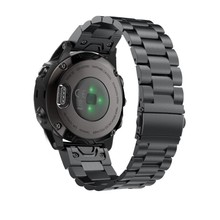 Fenix 6S Metal Wristband 20mm Stainless Steel Metal QuickFit Watch Band Strap for Garmin Fenix 5S/5S Plus Replacement Bracelet